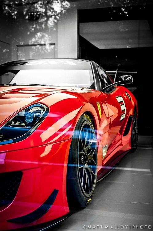 Ferrari 599 GTO.