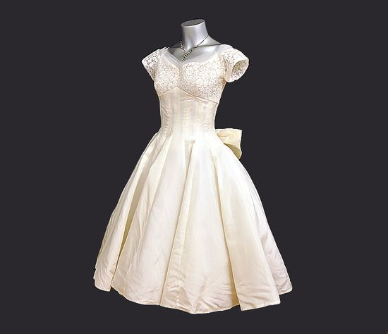 1950s dress / Vintage 50's Emma Domb Lace by Planetclairevintage, $485.00