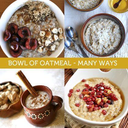 Bowl of Oatmeal Recipes