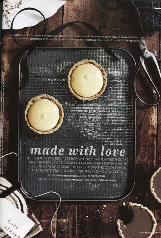Rustic, warm, tarts. Sharyn Cairns, photographer. #photography #food #styling
