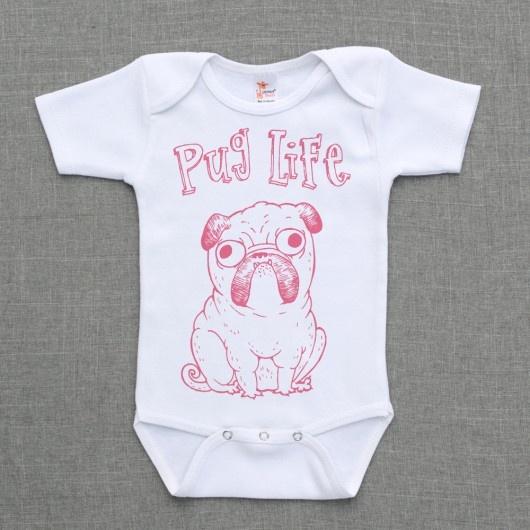 Pug Life One Piece - weddingchicks