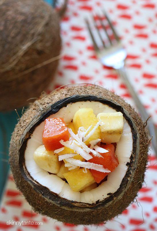 Tropical Fruit Salad Recipe -