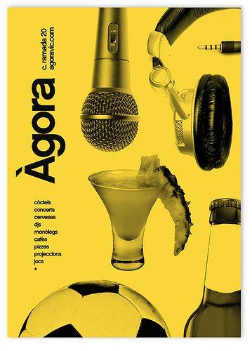 Agora bar _Ad by MARIN DSGN