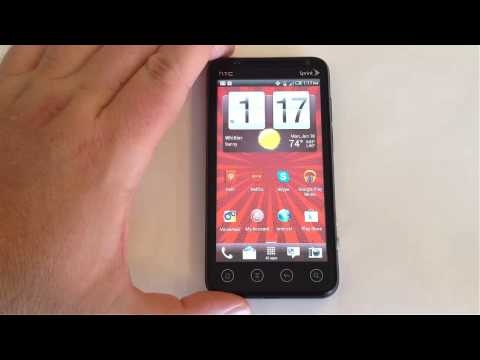 Virgin Mobile HTC EVO V 4G Android Phone Review