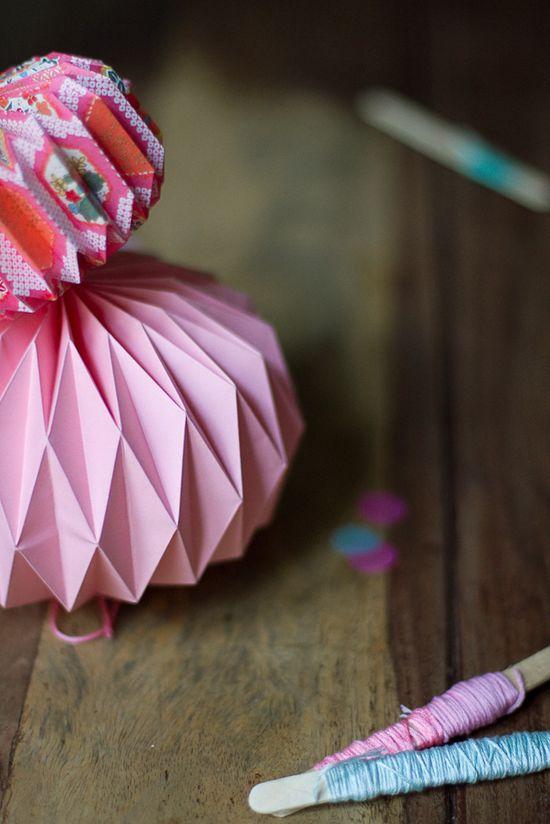 DIY origami ball