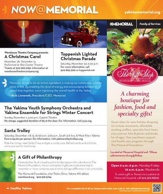 #Holiday Events in and Around #Yakima