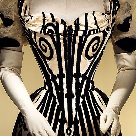 Evening dress - 1898