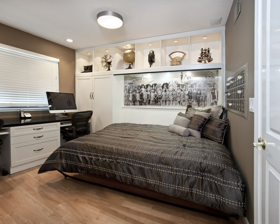 Home Office Murphy Bed Design, Pictures, Remodel, Decor and Ideas - page 7