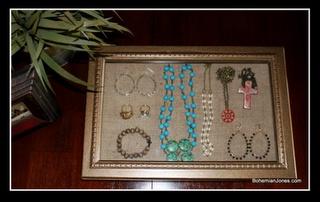 DIY Jewelry box!