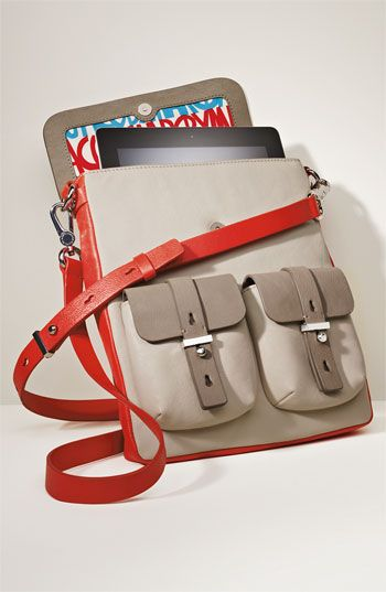 Marc by Marc Jacobs Tablet Messenger Bag - I think my ipad would love this to be its new case!