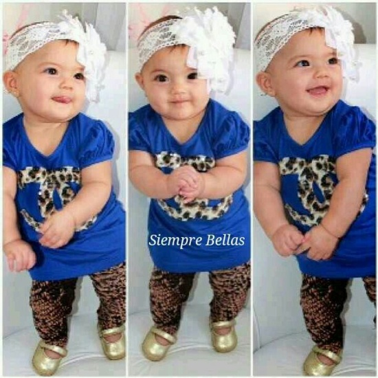 Cute baby & outfit