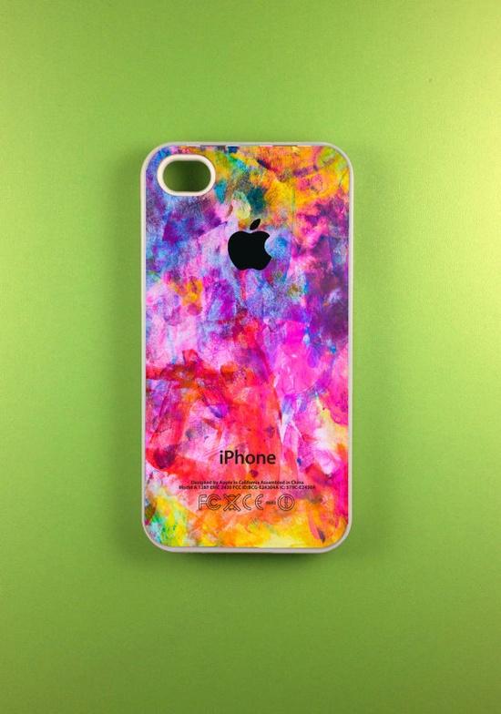 Colorful Iphone 4s Case, Iphone Case, Iphone 4 Case