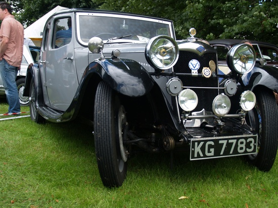 1934 British classic car