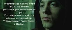 Lose Yourself Eminem Quote Google Search.