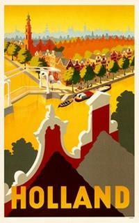 Retro Travel Posters From Holland