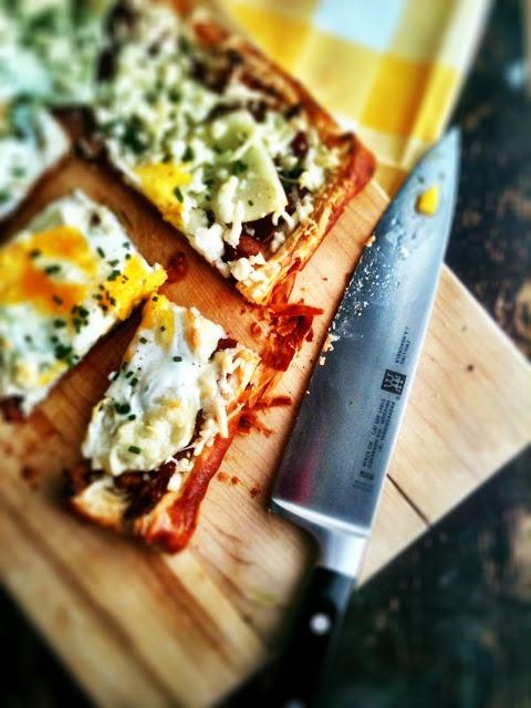Bacon & Egg Breakfast Tart