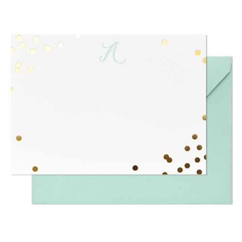 Gift Ideas for Your #Bridesmaids {pretty stationery from Sugar Paper}