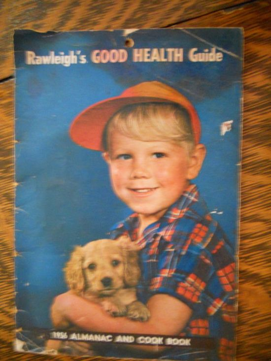 1956 Almanac Rawleigh's Good Health Guide and by PunkJunkers, $1.99