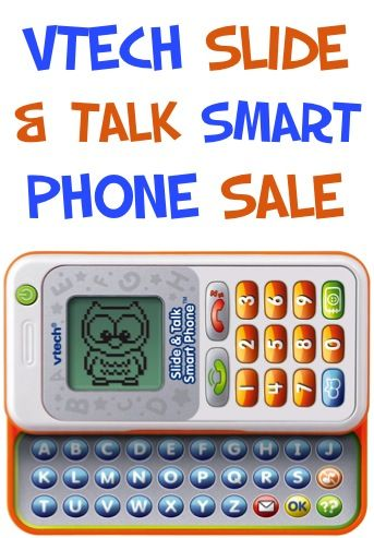 VTech Slide And Talk Smart Phone Sale: $11.29!  {check another gift off the list!} #toys