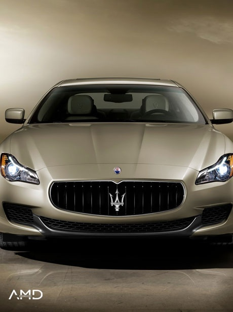 AMDMODE - Explore the all new Maserati Quattroporte V8 and discover all its brilliant features and luxurious design!