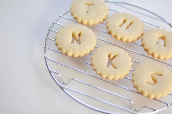 sweet wedding favour cookies THANKS