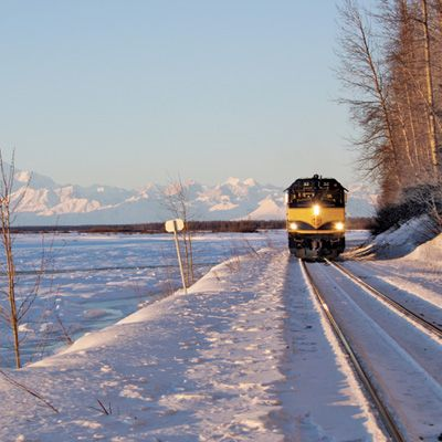 The Alaska Railroad Holiday Train