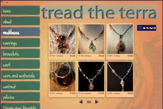 2013 West Side Fall Avant-Garde Art & Craft Show Vendor: Tread the Terra- tread the terra handmade jewelry designs