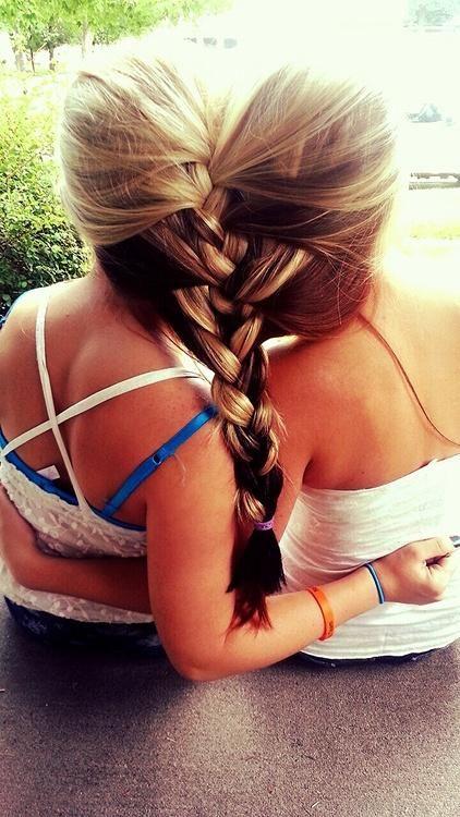 friends braid