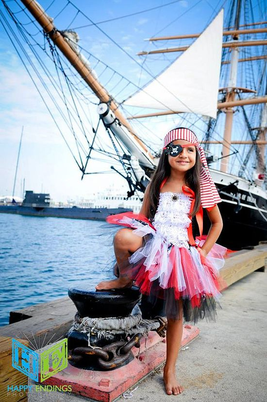 Adorable Pirate Costume via Etsy