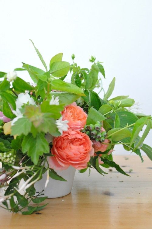flower arranging with chelsea fuss.