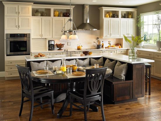 Island/Dining table combo perfect for smaller kitchen!!