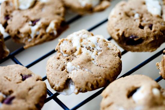 S'mores Cookies #vegan #glutenfree