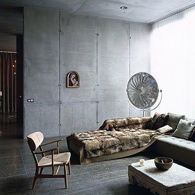 precast concrete interior wall