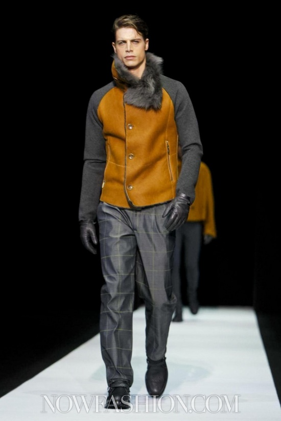 Emporio Armani Menswear Fall Winter 2013 Milan
