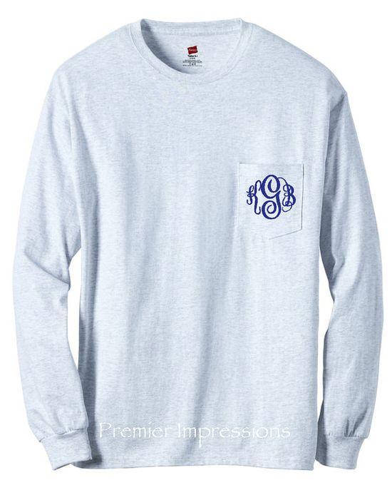 Monogrammed sweatshirt ?
