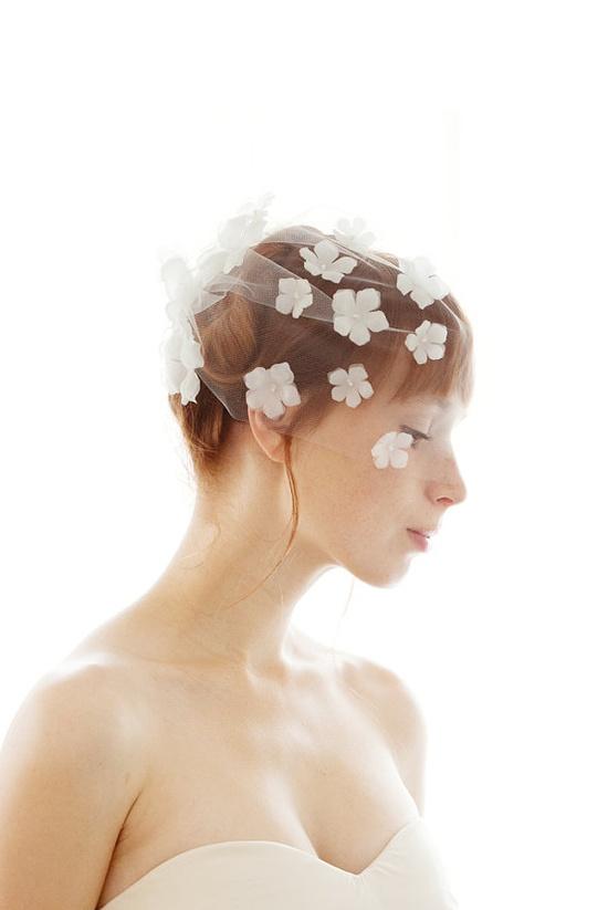 Flower veil