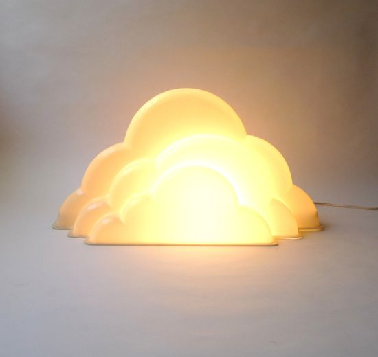Amazing Modernist Cloud Lamp by mascarajones on Etsy