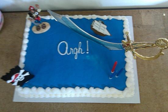 Pirate Cake!
