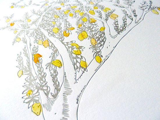 lemon invitation