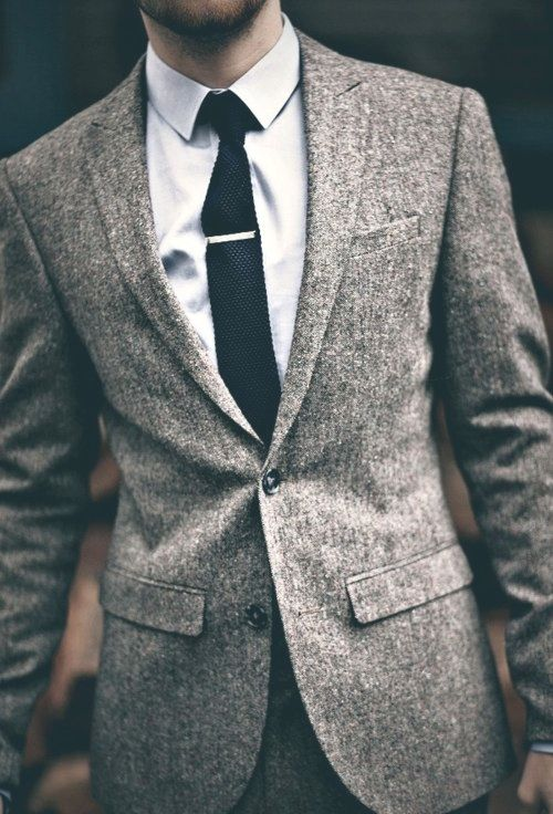suit and tie clip