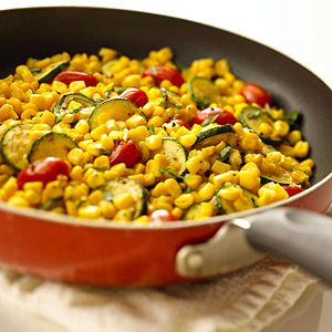 A great collection of summer vegetable side dishes