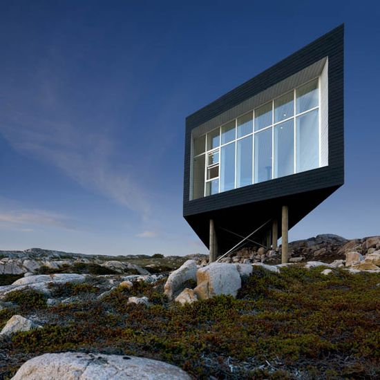 Long Studio by Saunders Architecture on Fogo Island, Newfoundland, Canada