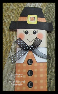 Pilgrim Candy Bar Wrapper