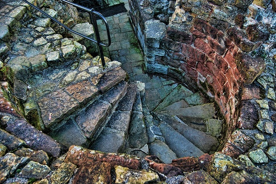 Flint Castle Stairwell (North Wales)