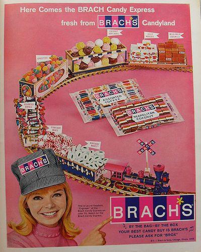 1966 BRACH'S CANDY ADVERTISEMENT vintage ad 1960s