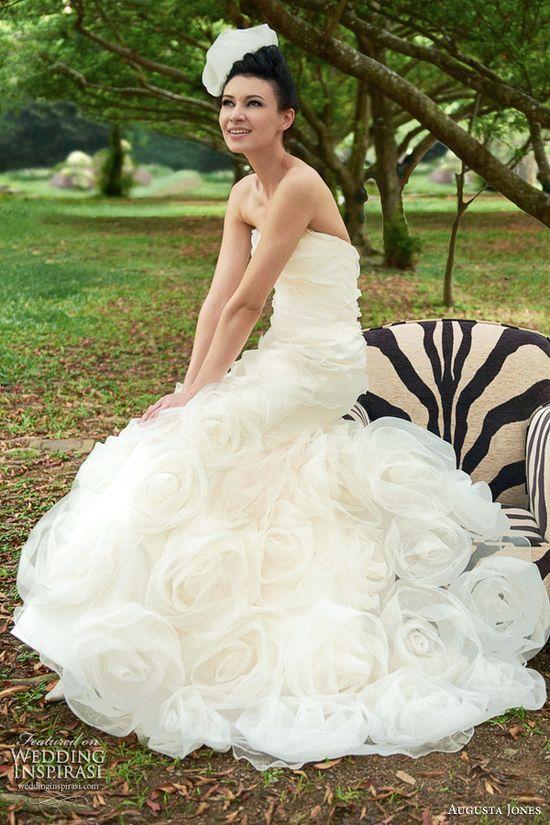 My favorite!!! Augusta Jones Wedding Dresses 2012
