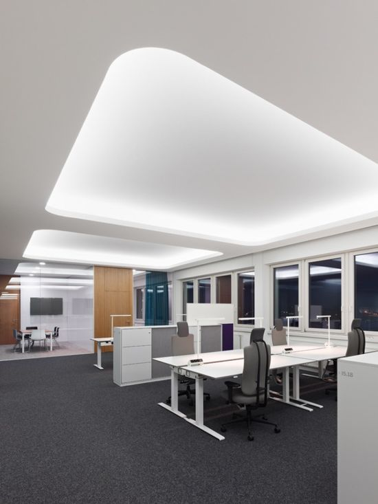 Concave Ceiling and Lights - by SAP