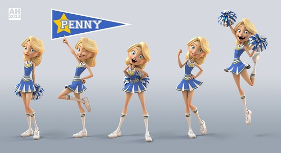 Cute 3D cartoon character design by digital artist andyh ( Andrew Hickinbottom) of London, United Kingdom!!! andyh.cghub.com/...