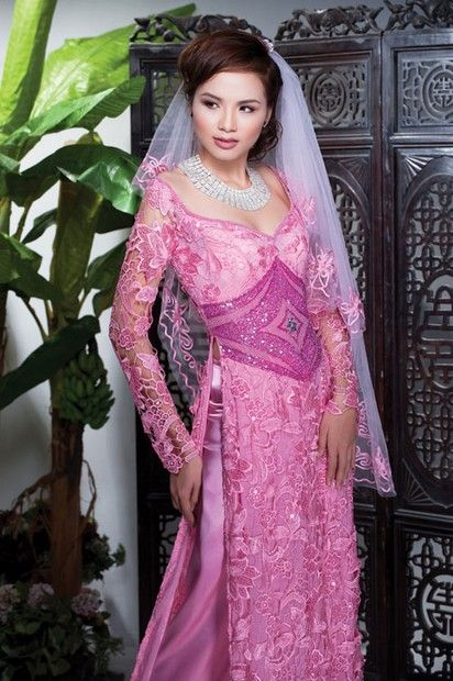 There is a wisdom of the head, and a wisdom of the heart :D / Ao Dai Cuoi Cach Tan - WR353 - aodaihoanguyen.co...