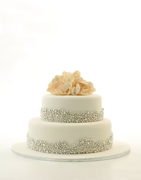 pretty and glitzy confection from Cakes by Judy C.